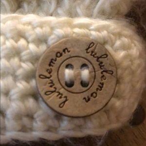 lululemon athletica Accessories - Ivory lululemon toque